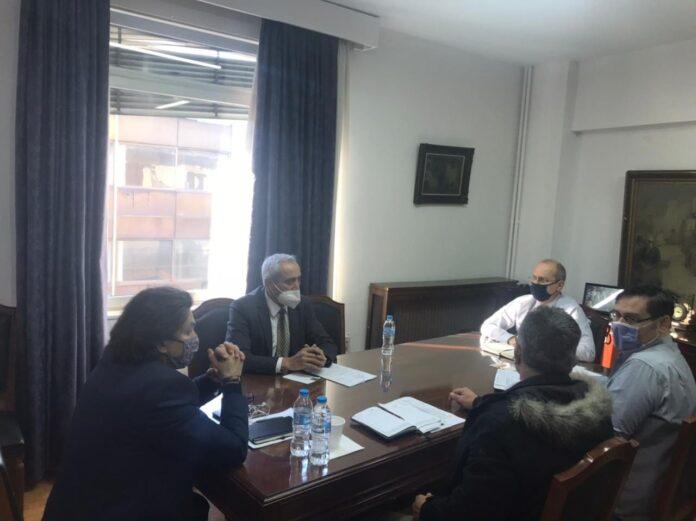 Συνάντηση του Βουλεύτη Δράμας Κ. Μπλούχου με τον Υφυπουργό Αγροτικής Οικονομίας